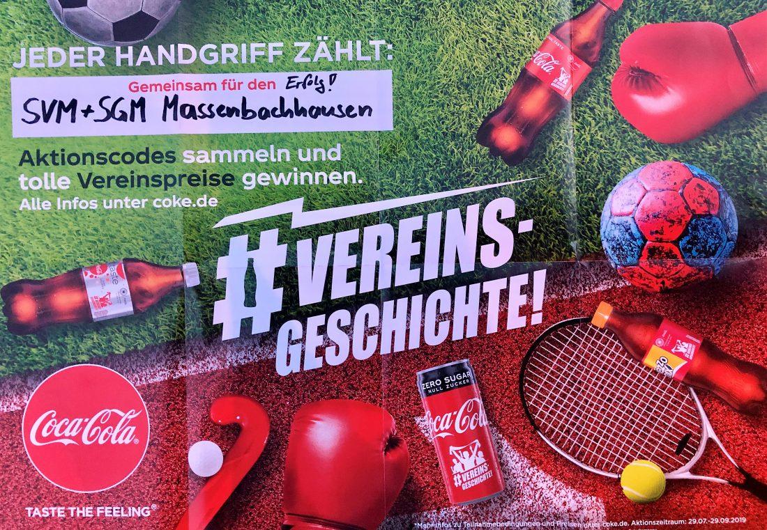 Coca Cola Vereinsgeschichte