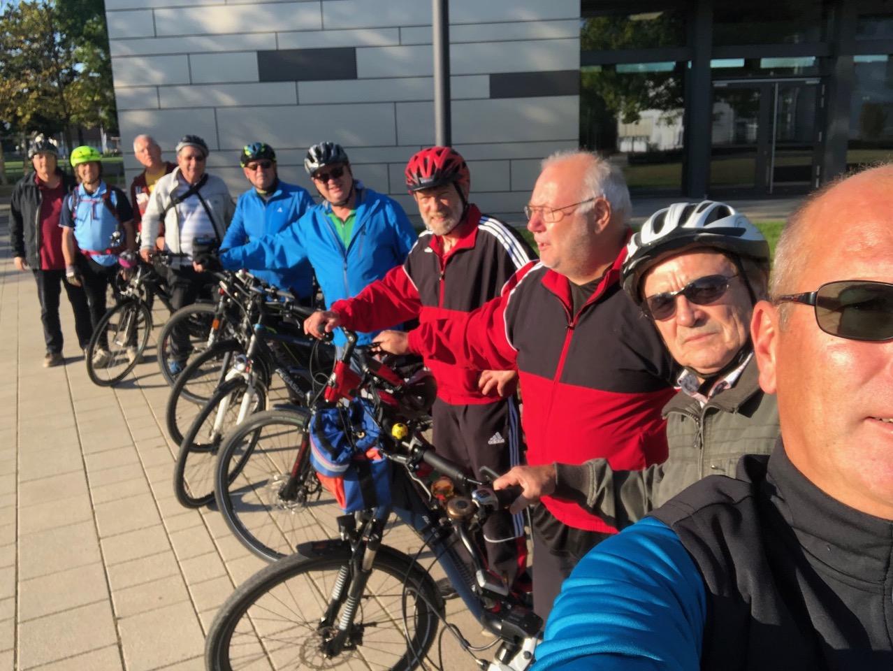 SVM Montagstuner – Ausfahrt mit dem Rad nach Heidelberg